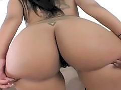Bubble Butt Latina POV Fuck