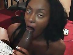 Big booty Black Teen Loves Big Cocks
