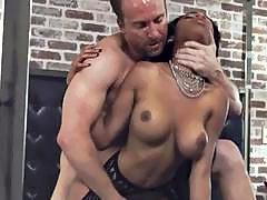 PORNFIDELITY Ebony Big Tit Babe Brittney White Creampied