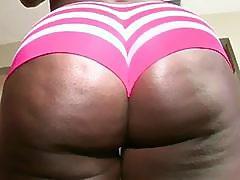 Big ass ebony Chanel Staxxx gets drilled